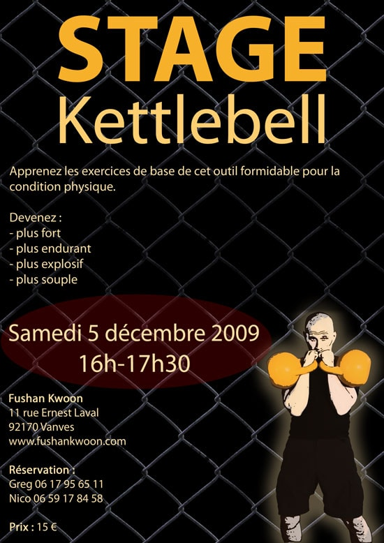 Kettlebell : stage d'initiation