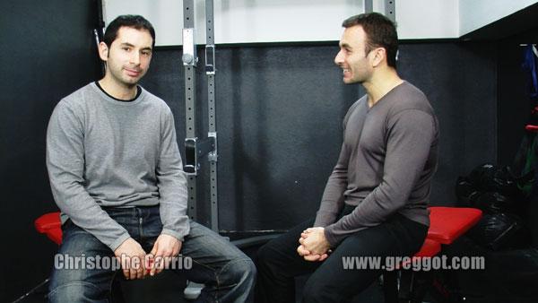 Christophe Carrio GregG othelf Interview