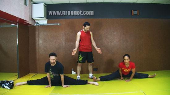 Stretching : Assouplissements pour Grand Ecart Facial