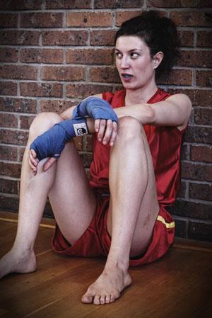 Hélène combattante Sanda Boji Boxe Chinoise