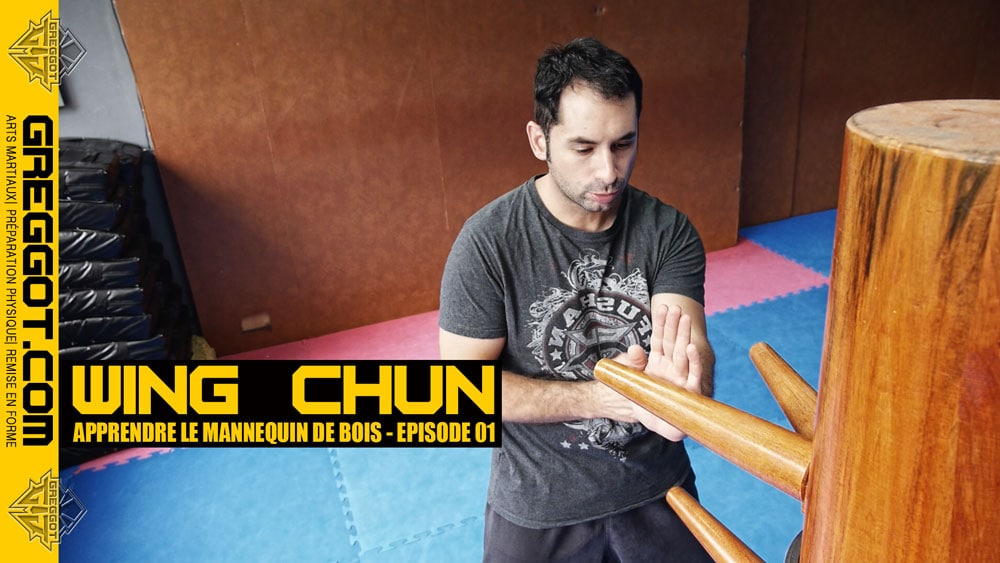 wing chun apprendre le mannequin de bois episode 01. Black Bedroom Furniture Sets. Home Design Ideas