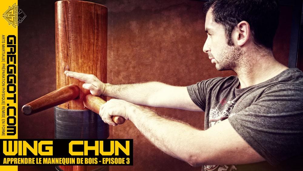 wing chun apprendre le mannequin de bois episode 03. Black Bedroom Furniture Sets. Home Design Ideas
