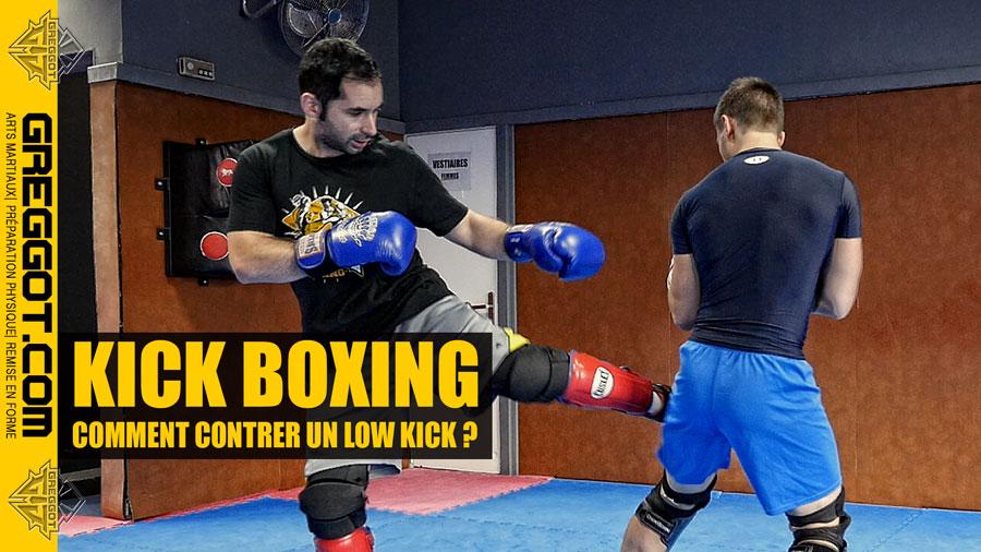 KICK BOXING : Comment contrer un low kick ?