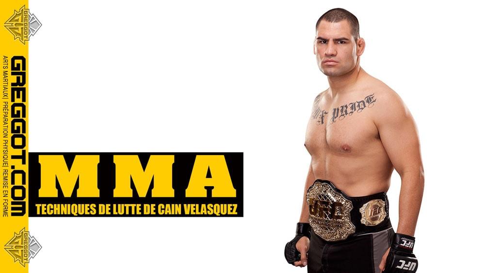 MMA : technique de Lutte de Cain Velasquez