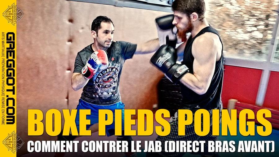 Boxe Pieds Poings : Comment contrer le Jab