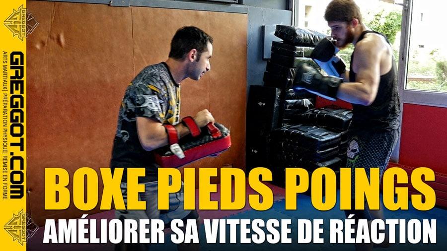 BOXE : Comment améliorer sa vitesse de réaction