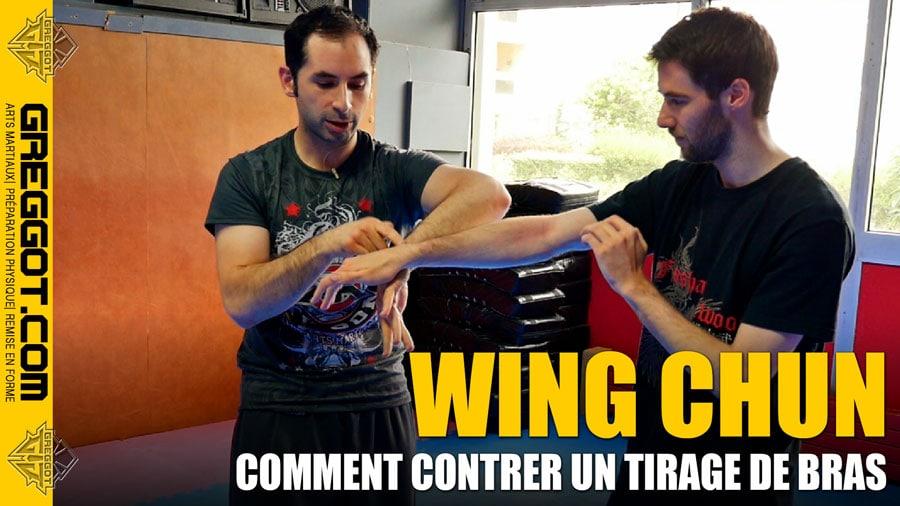 Cours Express de Wing Chun : Comment contrer un tirage de bras