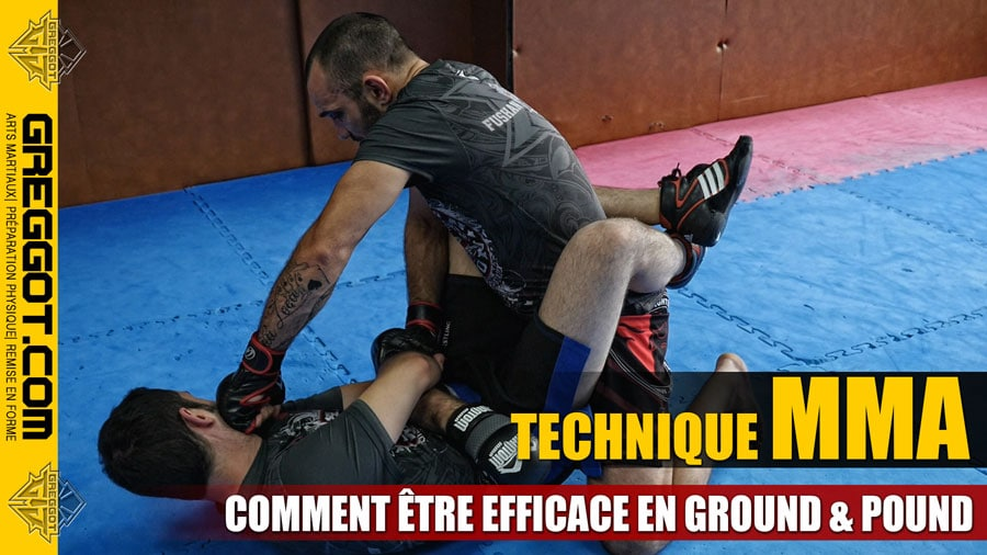 Technique MMA avec Johnny Frachey – Ground & Pound comme un Pro