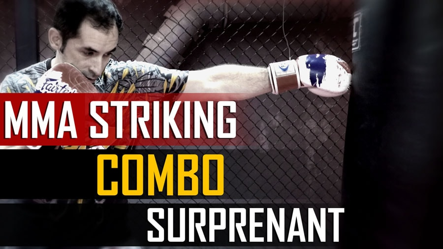 MMA Striking : Combo Surprenant