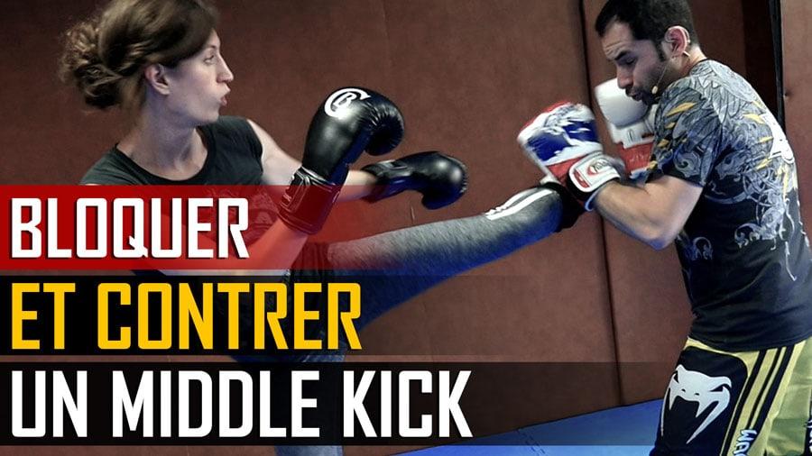Kick-Boxing-Bloquer-Contrer-Middle-Kick-BLOG