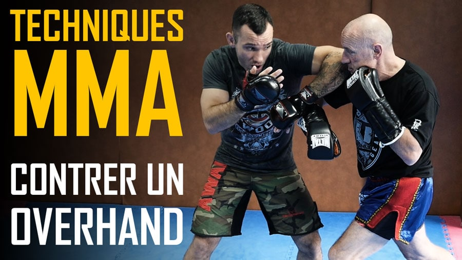 Techniques-MMA-Contrer-Overhand