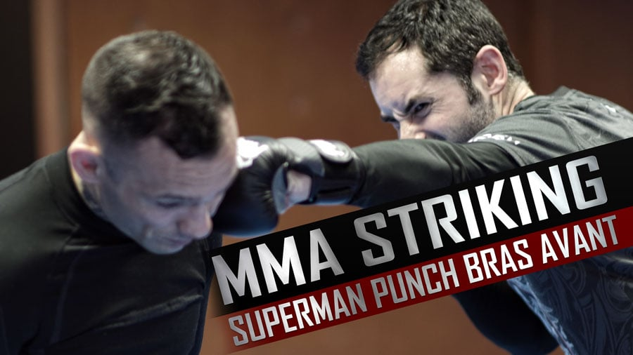 MMA STRIKING – Superman Punch Bras Avant avec Feinte