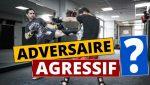 COMMENT COMBATTRE UN ADVERSAIRE AGRESSIF 👊 | TUTO BOXE GREGGOT.COM