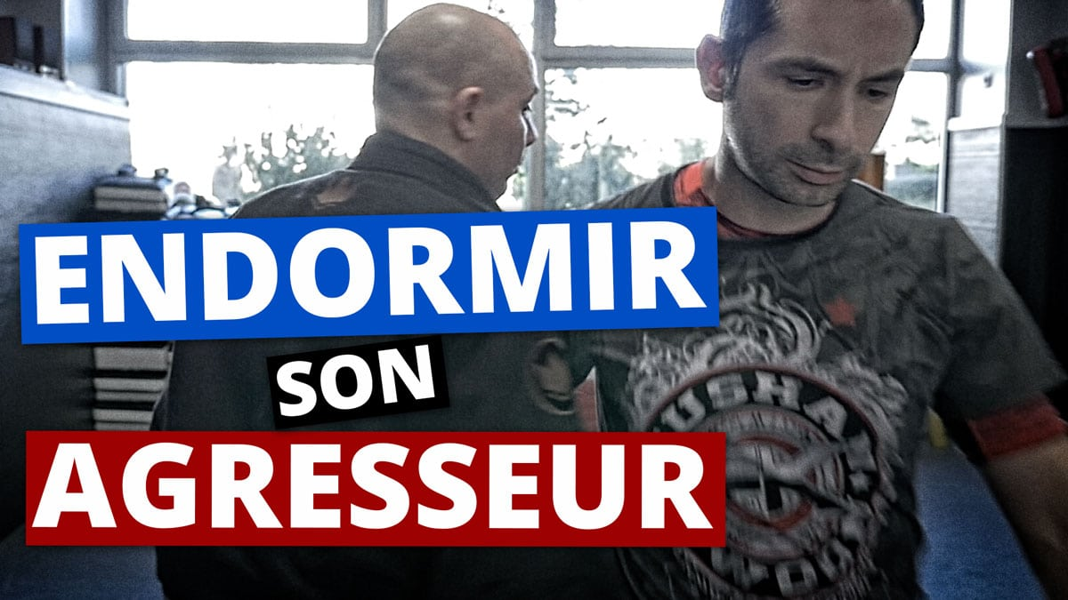 COMMENT ENDORMIR SON AGRESSEUR | SELF DEFENSE JJB LUTA LIVRE
