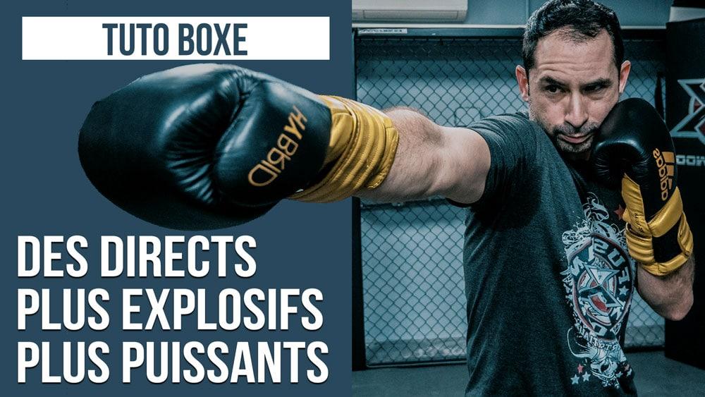 TUTO-BOXE-Directs-Explosifs-Puissants
